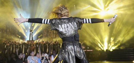 Dans les coulisses du MDNA Tour avec Swarovski