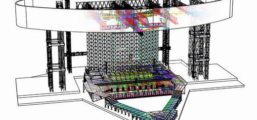 La scène du MDNA Tour : Croquis et impressions 3D