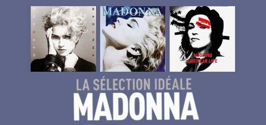Nouvelle boite Madonna «La Sélection Idéale» pour la France