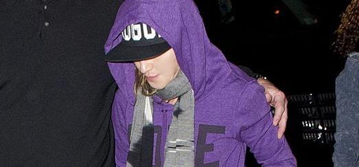 Madonna célèbre la cérémonie de Yom Kippour à New York [25 Septembre 2012]