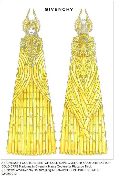 Riccardo Tisci Givenchy Sketches