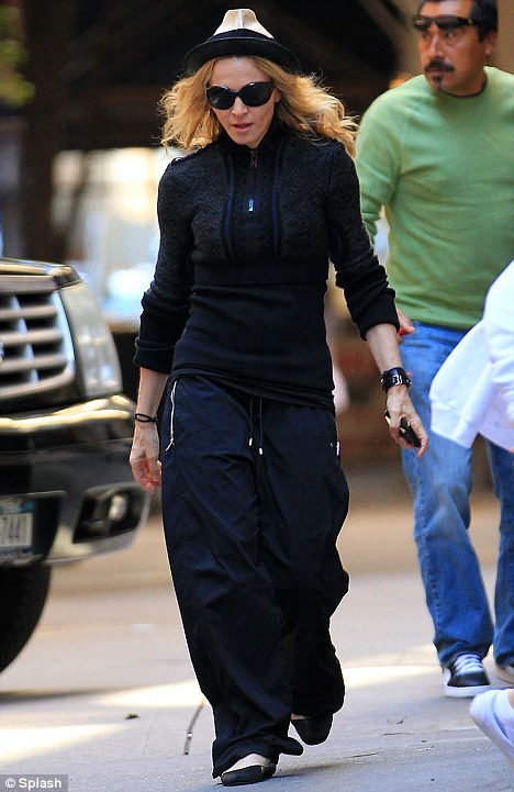 Madonna's trip to the K centre in NYC