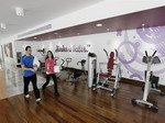 Inside Madonna's Hard Candy Fitness Centers 31