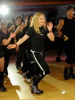 Madonna during the exclusive dance class at the Hard Candy Fitness center, Mexico 09