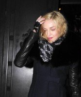 Madonna and Brahim Zaibat leaving the Wolseley Restaurant, London 02