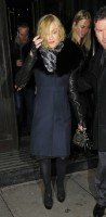 Madonna and Brahim Zaibat leaving the Wolseley Restaurant, London 05