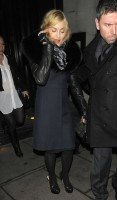 Madonna and Brahim Zaibat leaving the Wolseley Restaurant, London 08