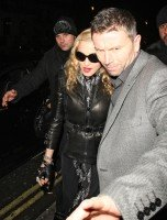 Madonna and Brahim Zaibat leaving the Aura Nightclub in Mayfair, London on January 6th 2011 01