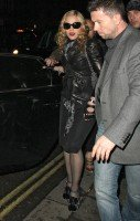 Madonna and Brahim Zaibat leaving the Aura Nightclub in Mayfair, London on January 6th 2011 04