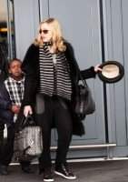 Madonna arriving at Heathrow airport, London (4)