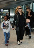 Madonna arrives at Heathrow airport, London (6)