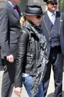 Madonna and Steven Klein leaving the Ritz hotel, Paris (2)