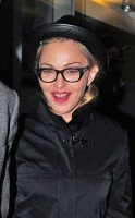 Madonna leaving recording studio, London (1)