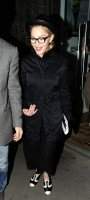 Madonna leaving recording studio, London (2)
