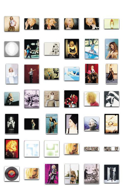 Madonna GHV2 Project - Full artwork package 01
