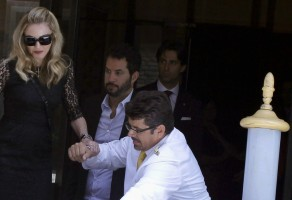 Madonna's second day at the 68th Venice Film Festival (1)