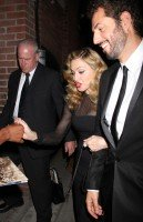 Madonna at private party and dinner at the Toronto International Film Festival, 12 September 2011 (2)