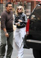 Madonna out and about in New York, 14 September 2011 (1)