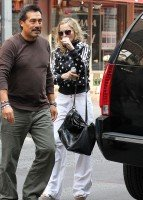 Madonna out and about in New York, 14 September 2011 (5)