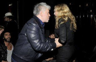 Madonna at The Skin I Live In after-party, 13 October 2011 (7)