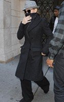 Madonna at the Kabbalah Centre in New York, 5 November 2011 (1)