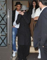 Madonna at the Kabbalah Centre in New York, 5 November 2011 (2)