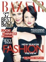 Madonna on the cover of Harper's Bazaar - December 2011 January - HQ (1)
