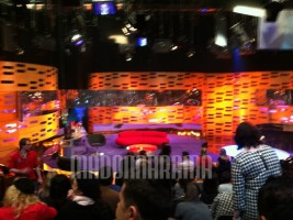 Madonna at the taping of the Graham Norton Show (1)
