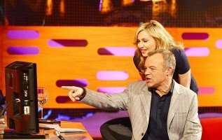 Madonna at the taping of the Graham Norton Show (3)
