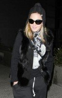 Madonna at LAX airport - January 12th 2012 - Update 02 (1)