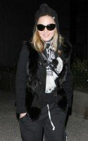 Madonna at LAX airport - January 12th 2012 - Update 02 (2)