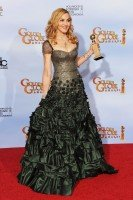 Madonna at the Golden Globes, Press Room - 15 January 2012 (4)