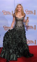 Madonna at the Golden Globes Press Room, 15 January 2012 - Update 01 (4)