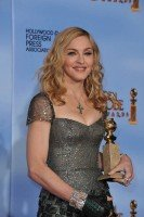 Madonna at the Golden Globes Press Room, 15 January 2012 - Update 01 (5)