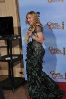 Madonna at the Golden Globes Press Room, 15 January 2012 - Update 01 (12)