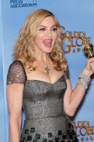 Madonna at the Golden Globes Press Room, 15 January 2012 - Update 01 (46)