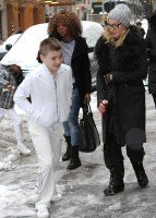 Madonna out and about in New York - 20 21 January 2012 (3)