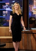 Madonna at the Tonight Show with Jay Leno - 30 January 2012 (1)