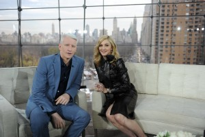 Madonna on Anderson Cooper - Promo pictures (1)