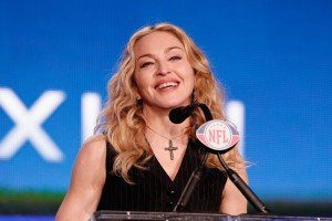 Madonna at the Super Bowl press conference - 2 February 2012 - Update 02 (8)