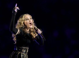Madonna at the Super Bowl Halftime Show - 5 February 2012 - Update 3 (5)