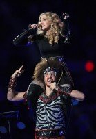 Madonna at the Super Bowl Halftime Show - 5 February 2012 - Update 3 (14)
