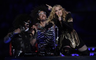 Madonna at the Super Bowl Halftime Show - 5 February 2012 - Update 3 (20)