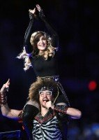 Madonna at the Super Bowl Halftime Show - 5 February 2012 - Update 3 (27)