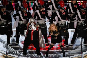 Madonna at the Super Bowl Halftime Show - 5 February 2012 - Update 3 (31)
