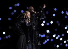 Madonna at the Super Bowl Halftime Show - 5 February 2012 - Update 3 (38)