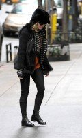 Madonna out and about in New York - 11 February 2012 (4)