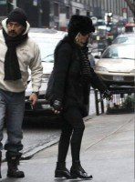 Madonna out and about in New York - 11 February 2012 (6)