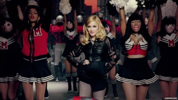Madonna Official Super Bowl and Give me all your luvin pictures (6)
