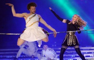 Madonna Official Super Bowl and Give me all your luvin pictures (9)